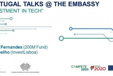 Portugal Talks @ The Portuguese Embassy | Investment in Tech | London, december 5th