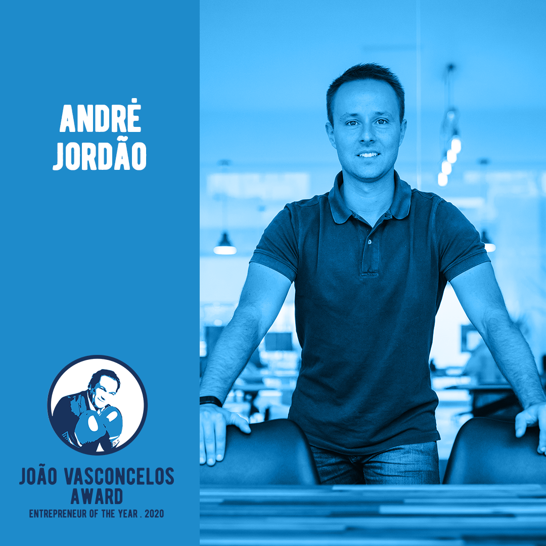 André Jordão, Barkyn's CEO, is one of  the João Vasconcelos Award finalists